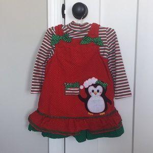 2T holiday dress